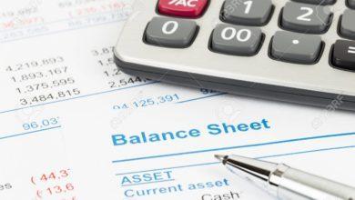 ترازنامه و تجزیه و تحلیل نسبتهای مالی