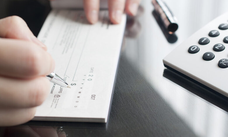 استعلام وضعیت چک ها